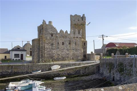 Slade Harbour and castle