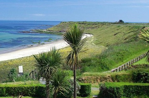 view across morans bay rosslare