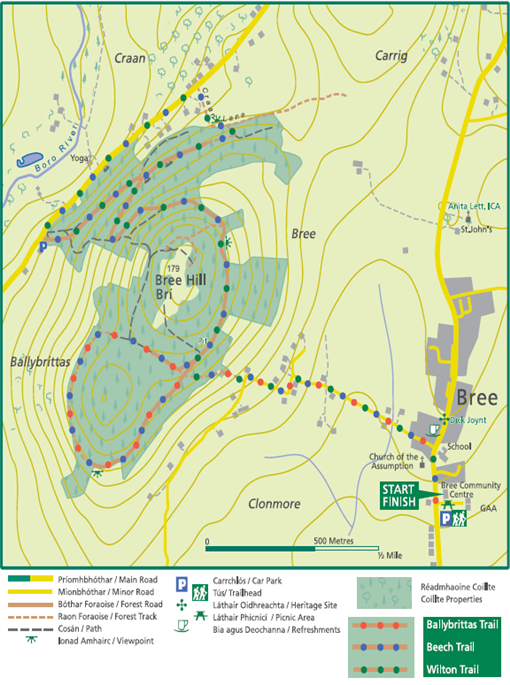 Bree Hill Map image